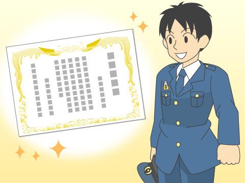 階級が上がる昇任試験