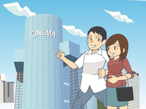 大型映画館が全国に続々オープン