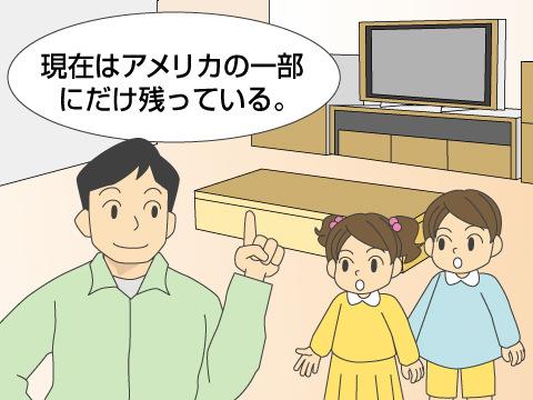 日本では2010年にすべて閉鎖