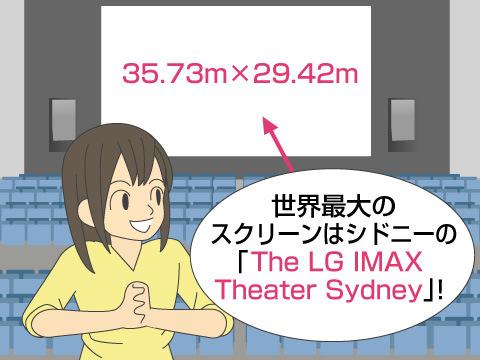 スクリーンの大きさは?