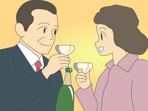 「君の瞳に乾杯」が広く使用されるキザの代名詞に