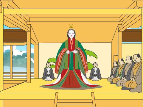 寺社の祭礼で演じられた能の世界