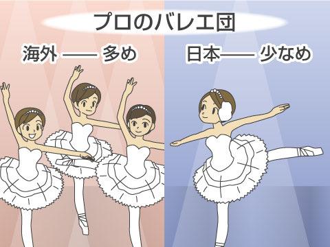 世界の有名バレエ団と日本のバレエ団