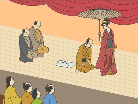 女芸人が歌舞伎の原点