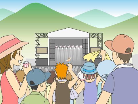 「FUJI ROCK FESTIVAL」が現在の基盤に