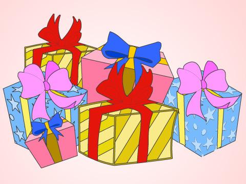 プレゼントをゲットしよう