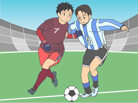 高校サッカーのドラマ