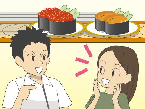 ついに回らない回転寿司が登場!?