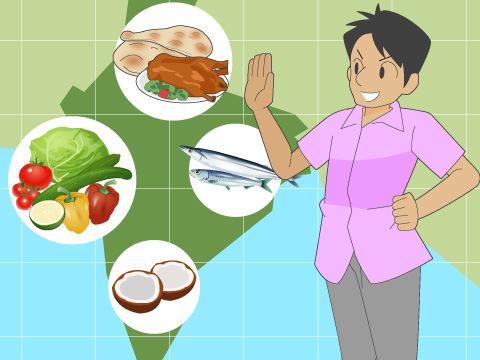 各地方で特色の異なるインド料理