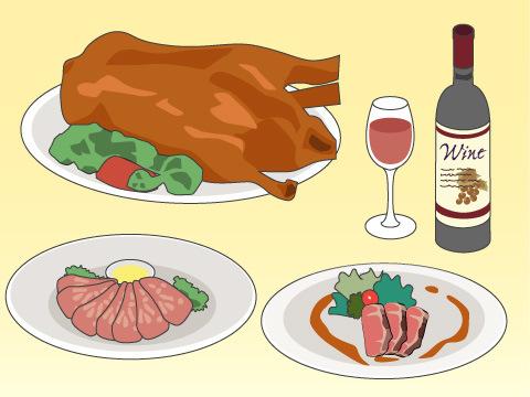 クリスマスに食べられる各国の料理