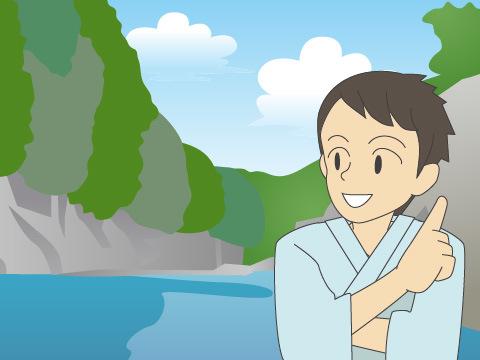 【湯谷温泉】渓谷の景勝地(愛知県)