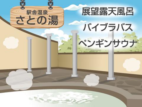 駅舎温泉さとの湯