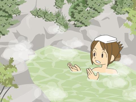 熊の湯温泉「熊の湯ホテル」(長野県)