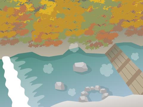 尻焼温泉「川原湯」(群馬県)