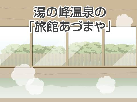 湯の峰温泉の「旅館あづまや」(和歌山県)