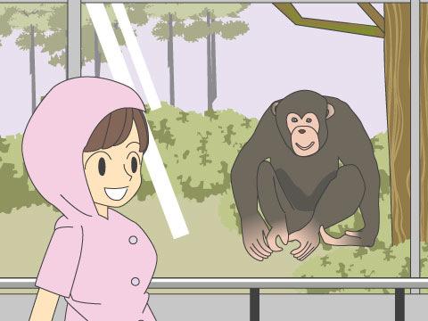 室内観覧施設にいる動物に会いに行きましょう