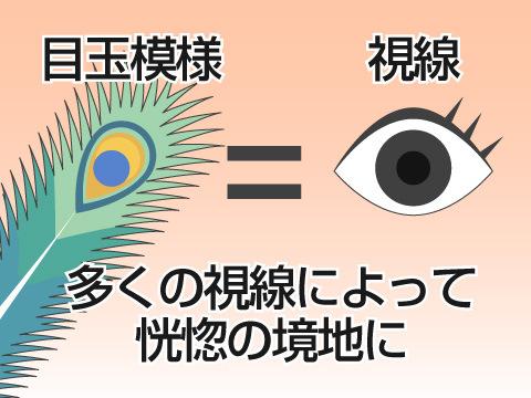 クジャクの羽の目玉模様のヒミツ