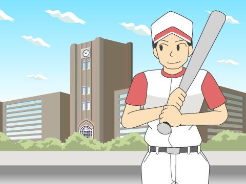 明治神宮野球場と東京六大学野球