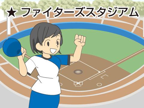 ファイターズスタジアム(北海道日本ハムファイターズ)