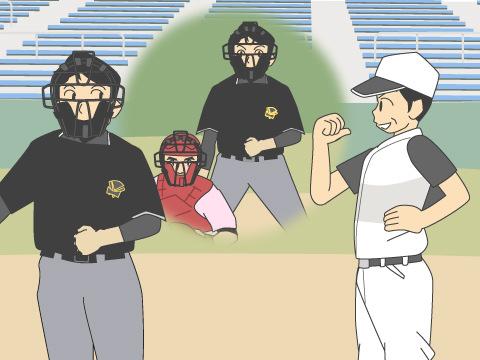 プロ野球の審判員