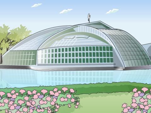 公立の植物園