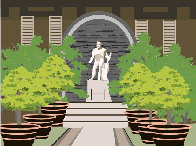 イタリア式庭園の特徴