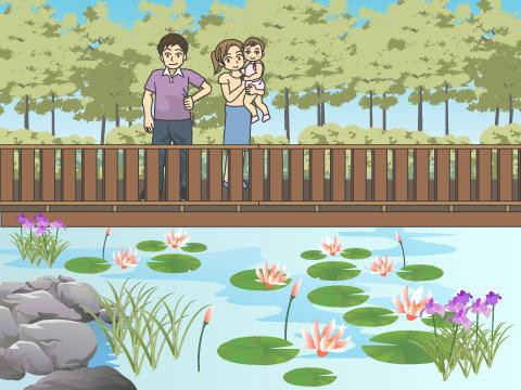 草津市立水生植物公園みずの森(滋賀県草津市)