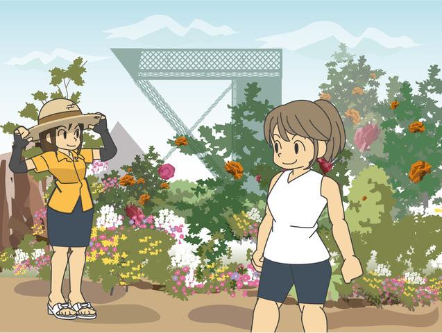 いつでも花と緑が楽しめる!花のテーマパーク