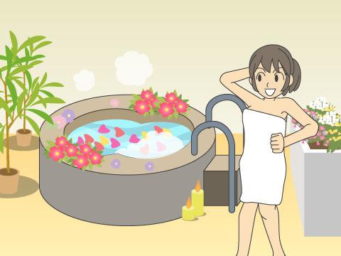 温泉やグルメも、ハーブを楽しみながら