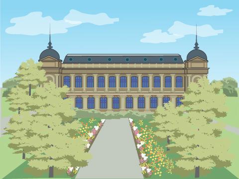 パリ植物園(フランス)