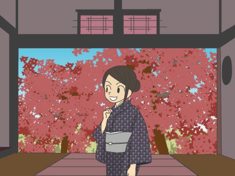 花と紅葉とを2度楽しめる「ドウダンツツジ」