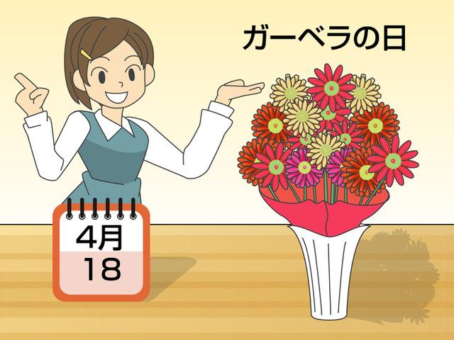 切り花やアレンジメントに人気の「ガーベラ」