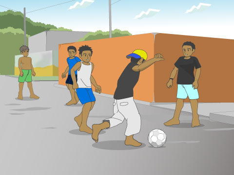 ストリートサッカーとは