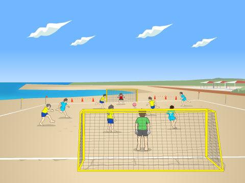 ビーチサッカーとは