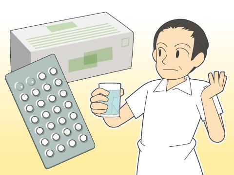 薬剤を服用する内服療法