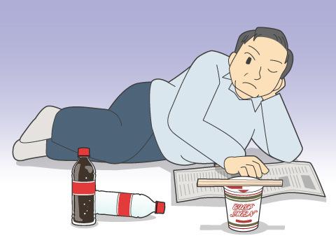 「貧乏太り」の原因とは