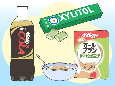 特定保健用食品の一例