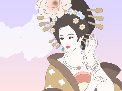 楊貴妃(719年~756年)