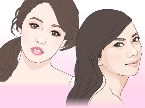 2007~2008年:目鼻立ちがはっきりしている顔立ちが人気