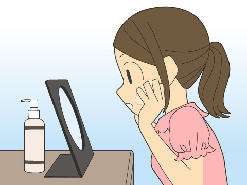乳液の正しい使い方