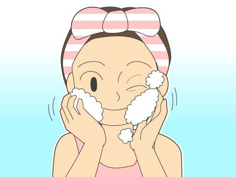 正しい洗顔のコツ