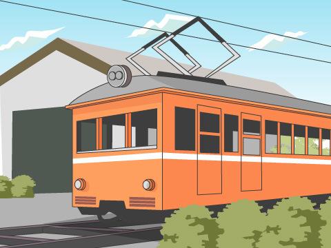 一畑電車「デハニ50形」体験運転