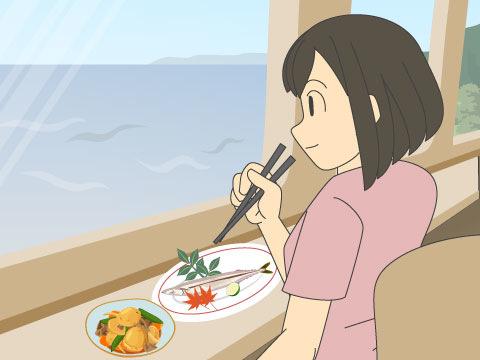 走るレストラン「おれんじ食堂」