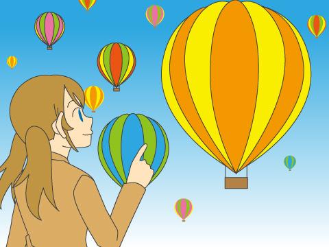 気球祭り/アメリカ