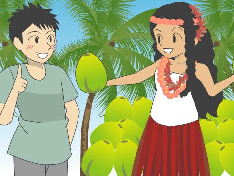 ココナッツ・フェスティバル/ハワイ
