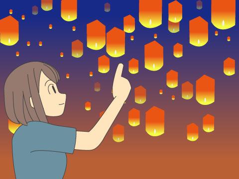 天燈(てんだん)/台湾