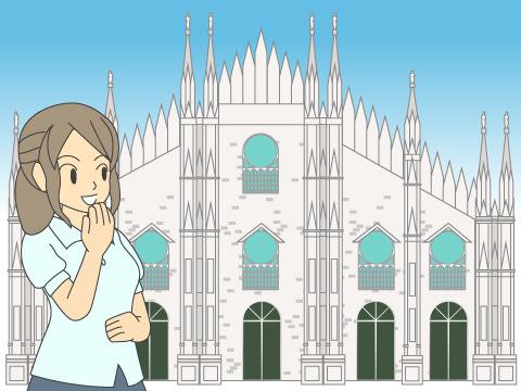 ミラノ大聖堂/イタリア