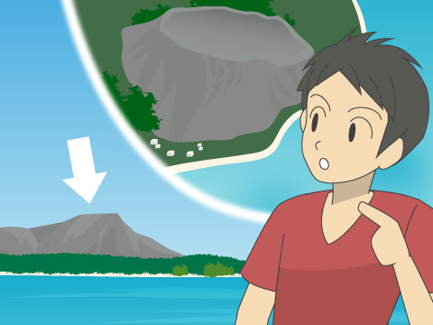 ダイヤモンド・ヘッド/ハワイ