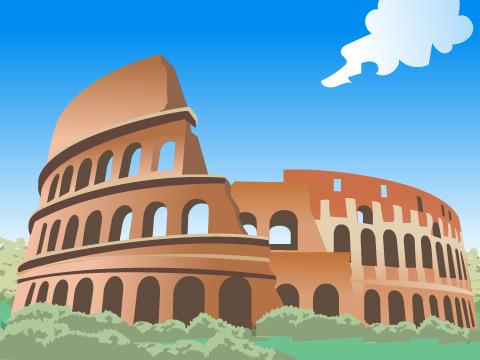 ローマ歴史地区、教皇領と大聖堂/イタリア