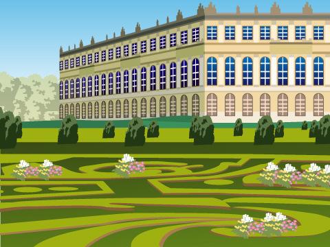ヴェルサイユの宮殿と庭園/フランス